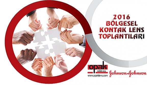 J&J - Opak Lens 2016 Bölgesel Kontak Lens Toplantıları