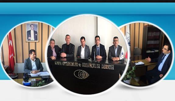 ''Konya Optisyenler ve Gözlükçüler Derneğine TBMM den önemli ziyaret !