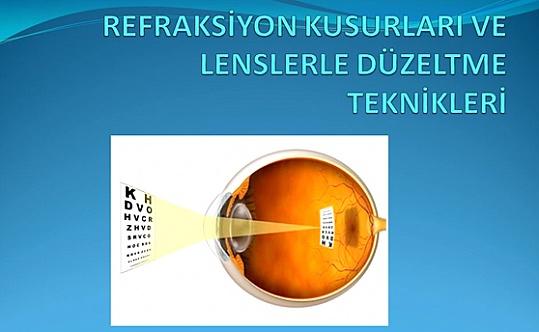 Refraksiyon Kusurları ve Lenslerle Düzeltme Teknikleri