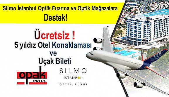 Silmo İstanbul Fuarına ve Optik Mağazalara Destek!