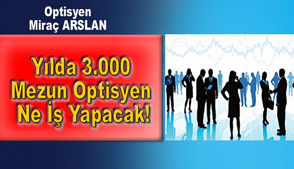 Yılda 3.000 Mezun Optisyen Ne İş Yapacak!