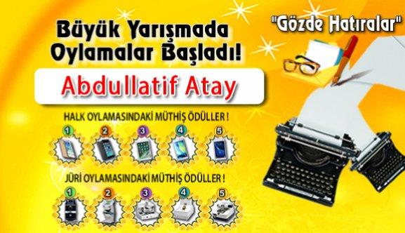 """Gözde Hatıralar """"Abdullatif Atay"""""""