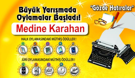 """Gözde Hatıralar """"Medine Karahan"""""""