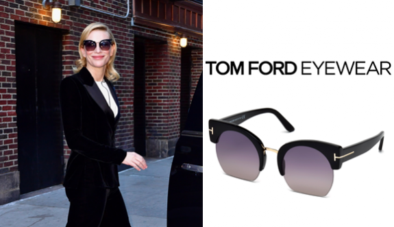 Cate Blanchett'in tercihi Ford Eyewear!