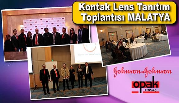 Johnson & Johnson - Opak Lens 2017 Kontak Lens Tanıtım Toplantıları – Malatya