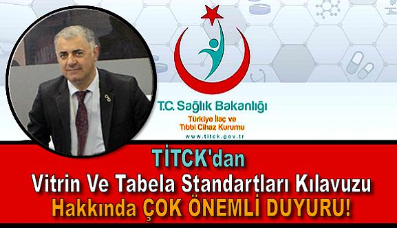 TİTCK'dan Çok ÖNEMLİ DUYURU!