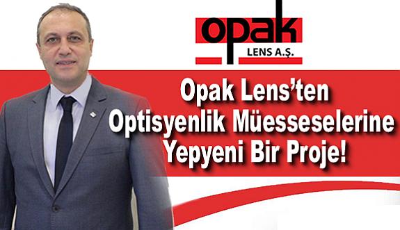 """Opak Lens'ten Optisyenlik Müesseselerine  Yepyeni Bir Proje!          """"1'e 1"""""""