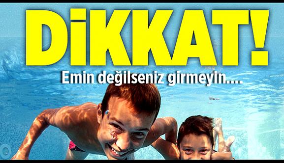 Toplu havuzlarda göz sağlığına dikkat!