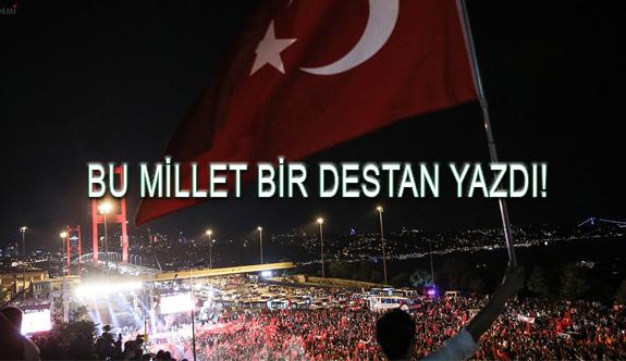 15 Temmuz Demokrasi Zaferinin 3. Yılı Kutlu Olsun