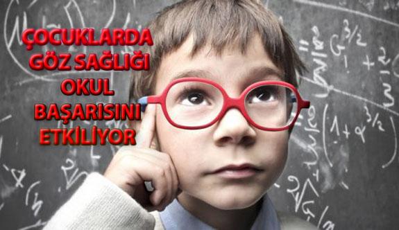 Çocuklarda Göz Sağlığı Okul Başarısını Etkiliyor