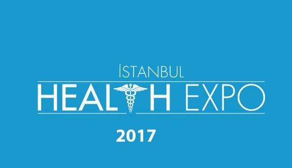 İstanbul Health Expo-İstanbul Sağlık Fuarı 2017 Başlıyor