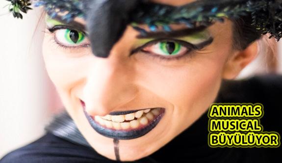Animals Musical 110 Kişilik Kadrosu ve Kostümleriyle Büyülüyor