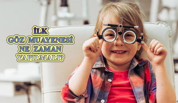 Çocuklarda İlk Göz Muayenesi Ne Zaman Yapılmalı?