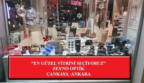 """""""En Güzel Vitrini Seçiyoruz"""" Yarışması: Zeyno Optik-Ankara/Çankaya"""