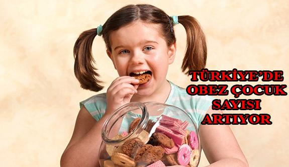 Türkiye'de Obez Çocuk Sayısı Hızla Artıyor