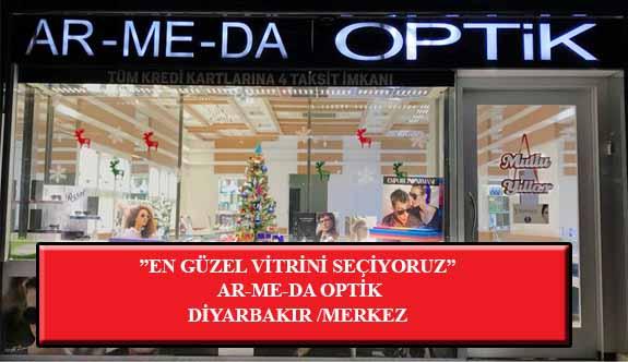 """""""En Güzel Vitrini Seçiyoruz"""" Yarışması: AR-ME-DA Optik-Diyarbakır/Merkez"""
