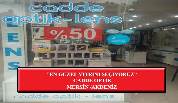 """""""En Güzel Vitrini Seçiyoruz"""" Yarışması: Cadde Optik- Mersin /Akdeniz"""