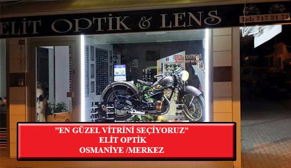 """""""En Güzel Vitrini Seçiyoruz"""" Yarışması: Elit Optik-Osmaniye"""