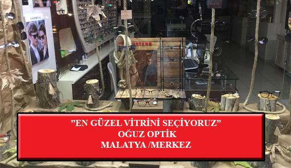 """""""En Güzel Vitrini Seçiyoruz"""" Yarışması: Oğuz Optik-Malatya/Merkez"""