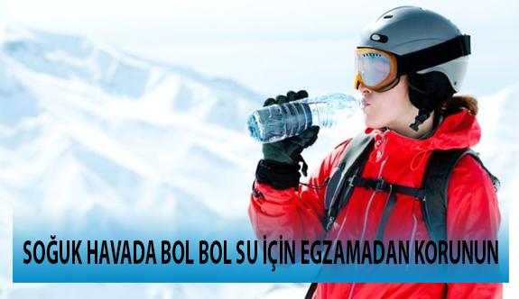 Soğuk Havada Bol Bol Su İçin Egzamadan Korunun