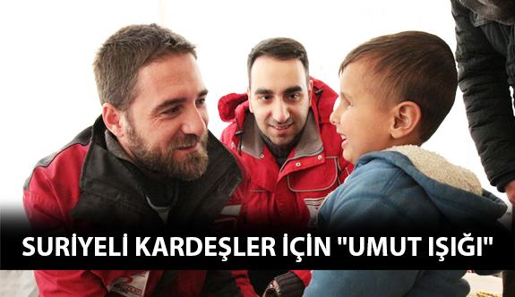 """Suriyeli Kardeşler İçin """"Umut Işığı"""""""
