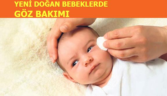 Yeni Doğan Bebeklere Göz Bakımı Nasıl Yapılmalı?