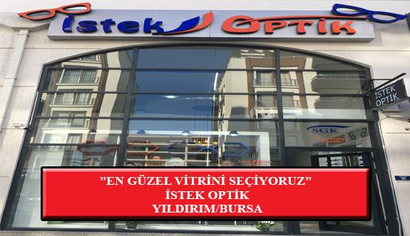 """""""En Güzel Vitrini Seçiyoruz"""" Yarışması: İstek Optik-Yıldırım /Bursa"""