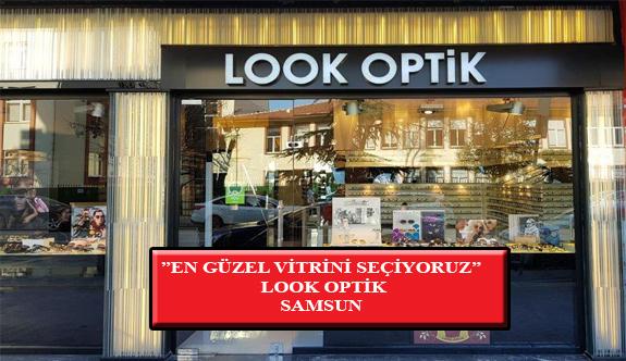 """""""En Güzel Vitrini Seçiyoruz"""" Yarışması: Look Optik- Samsun"""