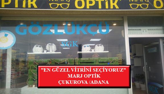 """""""En Güzel Vitrini Seçiyoruz"""" Yarışması: Marj Optik-Çukurova /Adana"""