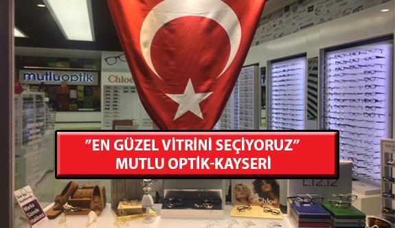 """""""En Güzel Vitrini Seçiyoruz"""" Yarışması: Mutlu Optik- Kayseri"""