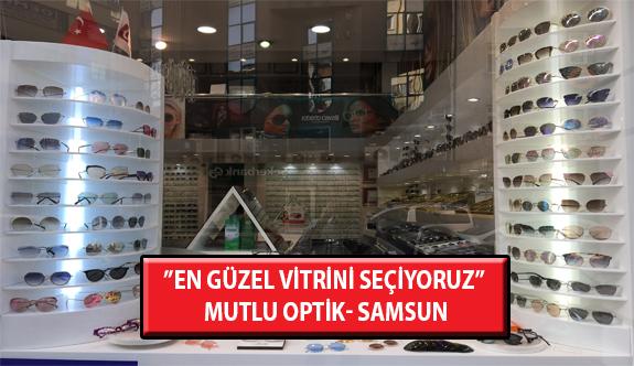 """""""En Güzel Vitrini Seçiyoruz"""" Yarışması: Mutlu Optik- Samsun"""