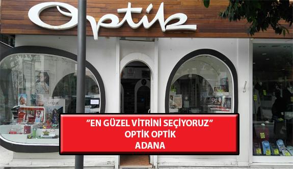 """""""En Güzel Vitrini Seçiyoruz"""" Yarışması: Optik Optik-Adana"""