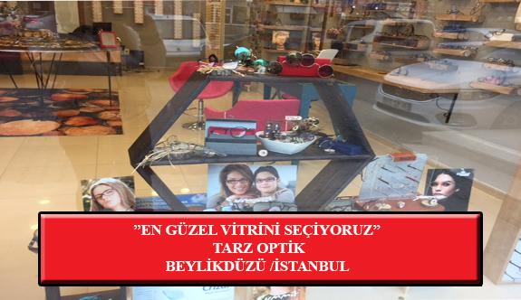 """""""En Güzel Vitrini Seçiyoruz"""" Yarışması: Tarz Optik-Beylikdüzü /İstanbul"""