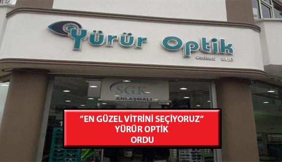 """""""En Güzel Vitrini Seçiyoruz"""" Yarışması: Yürür Optik- Ordu"""