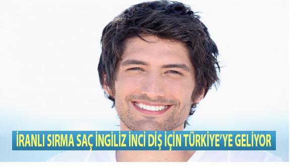 İranlı Sırma Saç İngiliz İnci Diş İçin Türkiye'ye Geliyor