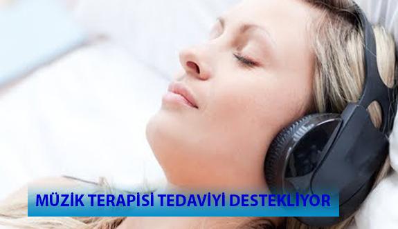 Müzik Terapisi Tedaviyi Destekliyor