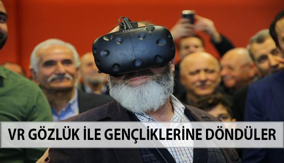 VR Gözlük İle Gençliklerine Döndüler