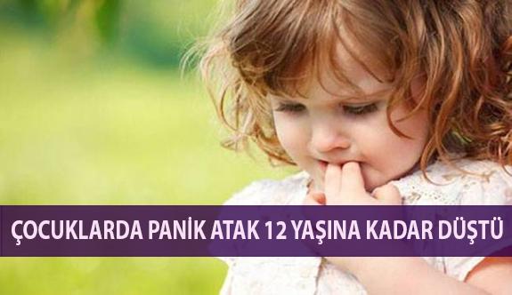 Çocuklarda Panik Atak 12 Yaşına Kadar Düştü
