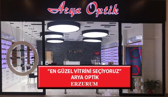 """""""En Güzel Vitrini Seçiyoruz"""" Yarışması: Arya Optik- Erzurum"""