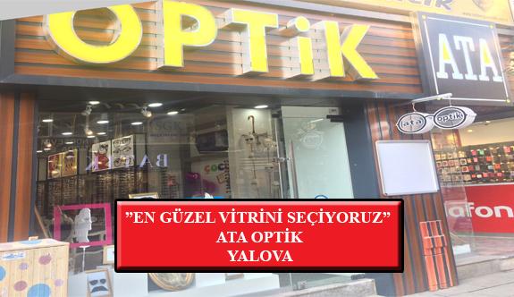 """""""En Güzel Vitrini Seçiyoruz"""" Yarışması: Ata Optik- Yalova"""