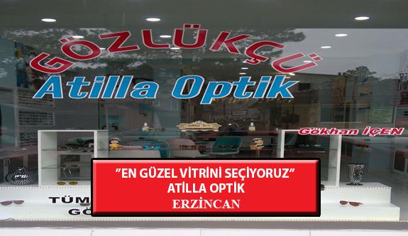 """""""En Güzel Vitrini Seçiyoruz"""" Yarışması: Atilla Optik- Erzincan"""