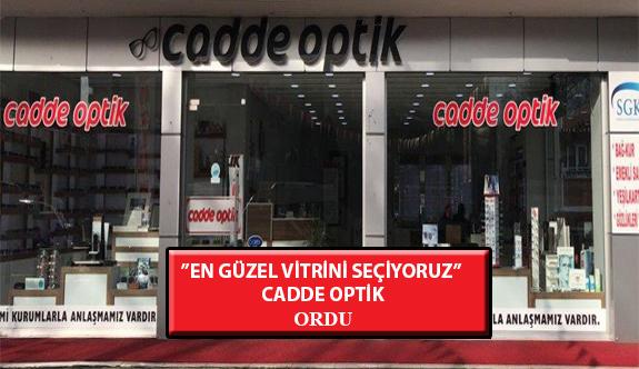 """""""En Güzel Vitrini Seçiyoruz"""" Yarışması: Cadde Optik- Ordu"""