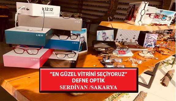 """""""En Güzel Vitrini Seçiyoruz"""" Yarışması: Defne Optik- Serdivan /Sakarya"""
