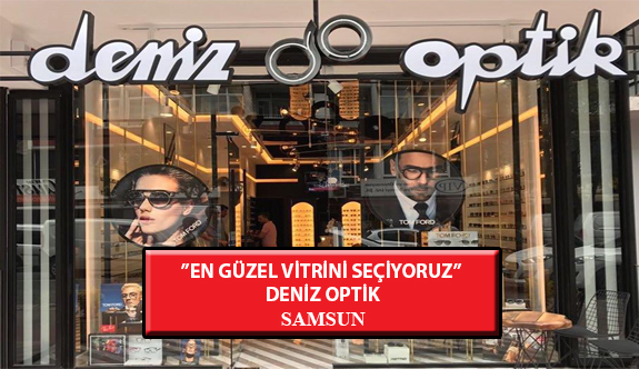 """""""En Güzel Vitrini Seçiyoruz"""" Yarışması: Deniz Optik- Samsun"""