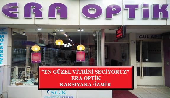 """""""En Güzel Vitrini Seçiyoruz"""" Yarışması: Era Optik- Karşıyaka/İzmir"""