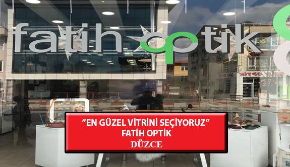 """""""En Güzel Vitrini Seçiyoruz"""" Yarışması: Fatih Optik- Düzce"""