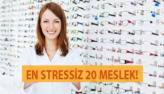 En Stressiz 20 Meslek!