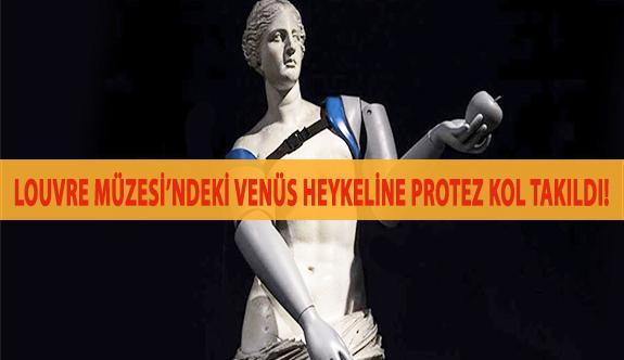 Louvre Müzesi'ndeki Venüs Heykeline Protez Kol Takıldı!