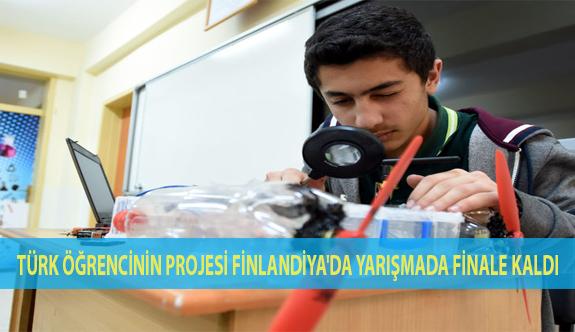 Türk Öğrencinin Projesi Finlandiya'daki Yarışmada Finale Kaldı