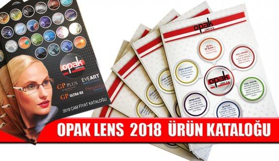 Opak Lens A.Ş. 2018 Ürün Kataloğu Dağıtıma Başlandı
